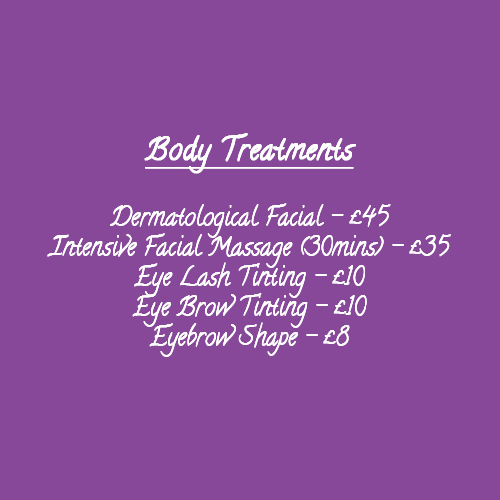 Body Treatment Prices Touch of Silk 001